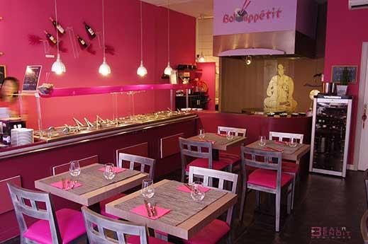restaurant asiatique design St Etienne