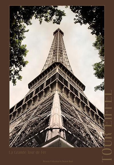 La tour eiffel symbole fran ais paris vue de l for A l interieur de la tour eiffel