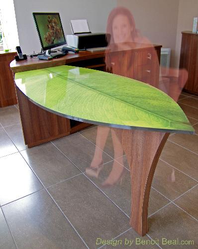 design produit mobilier le bureau feuille et nature pour un centre amincissement. Black Bedroom Furniture Sets. Home Design Ideas