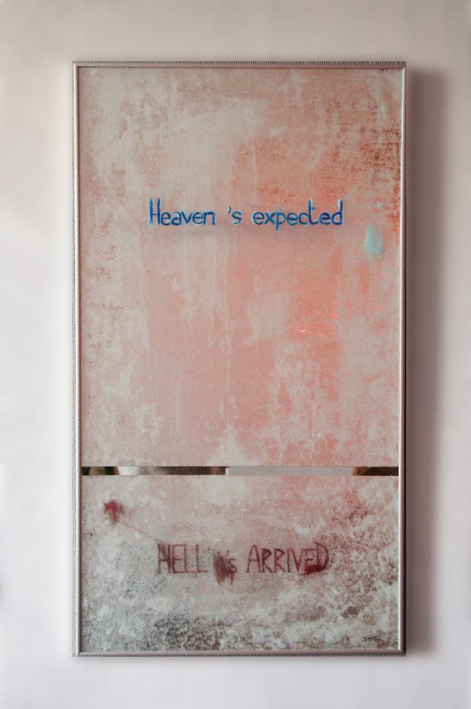 Cr ation art sur miroir r flexion sur notre monde contemporain for Miroir notre monde