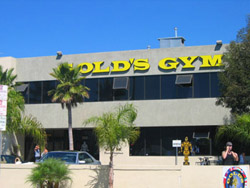 Le Gold Gym Venice Californie